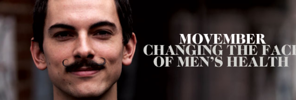 Movember: Changing the Face of Men's Health (literally)