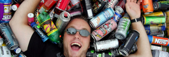 Know what's fueling your energy: info about energy drinks for young adults